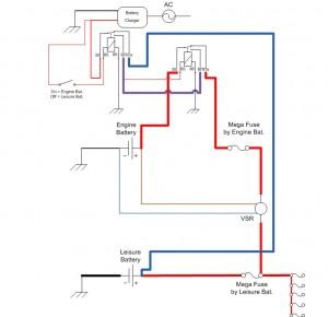 vw t5 kombi conversion battery charging system design. Black Bedroom Furniture Sets. Home Design Ideas