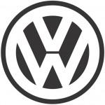 B/W Volkswagen Logo